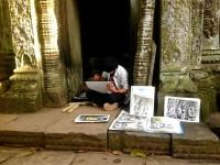 Alternativetraveling - Cambodia - Siem Reep - Angkor Wat, Angkor Tom, Byron - IMG_0695
