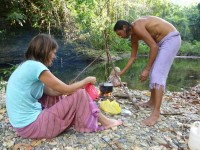 Philippines  -  Palawan, Cleopatra Niddle jungle trek, Batak tribe - P1000297