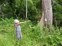 Philippines  -  Palawan, Cleopatra Niddle jungle trek, Batak tribe - P1000324