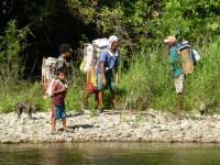 Philippines  -  Palawan, Cleopatra Niddle jungle trek, Batak tribe - P1000425