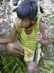 Philippines  -  Palawan, Cleopatra Niddle jungle trek, Batak tribe - P1000459