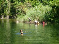 Philippines  -  Palawan, Cleopatra Niddle jungle trek, Batak tribe - P1000505