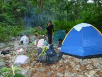 Philippines  -  Palawan, Cleopatra Niddle jungle trek, Batak tribe - P1000218