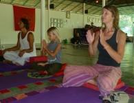 Thailand - Koh Pangan - Agama Yoga Course - Yoga family - 1
