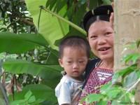 Vietnam  North - Tac Ba  lake and yao village  - IMG_2433