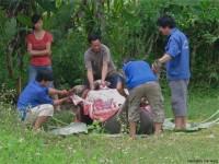 Vietnam  North - Tac Ba  lake and yao village  - IMG_2376