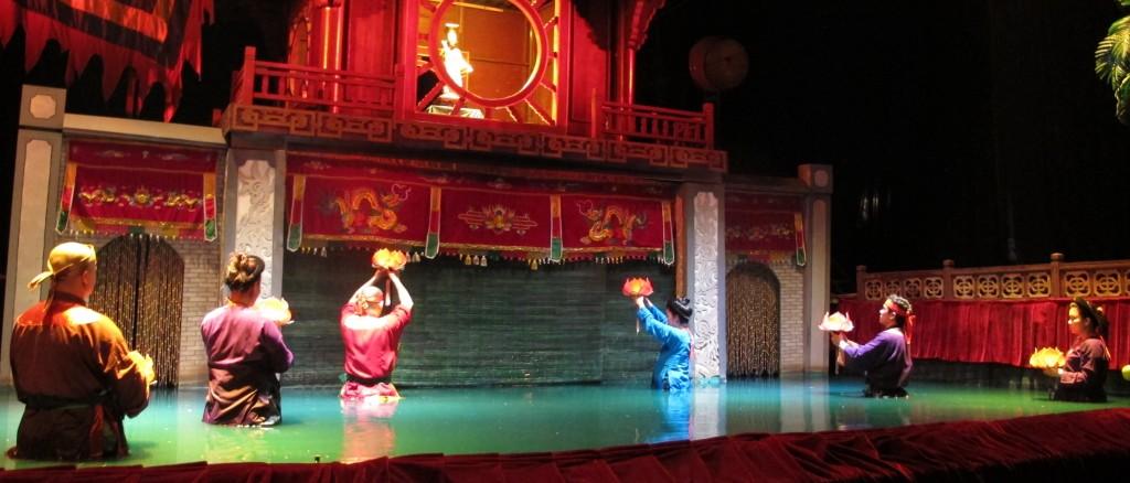 Vietnam, Hanoi city, puppet dragon show - IMG_1269